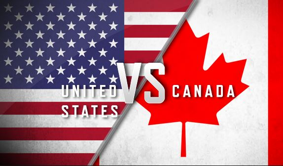Differences between Online Casinos in the US and Canada